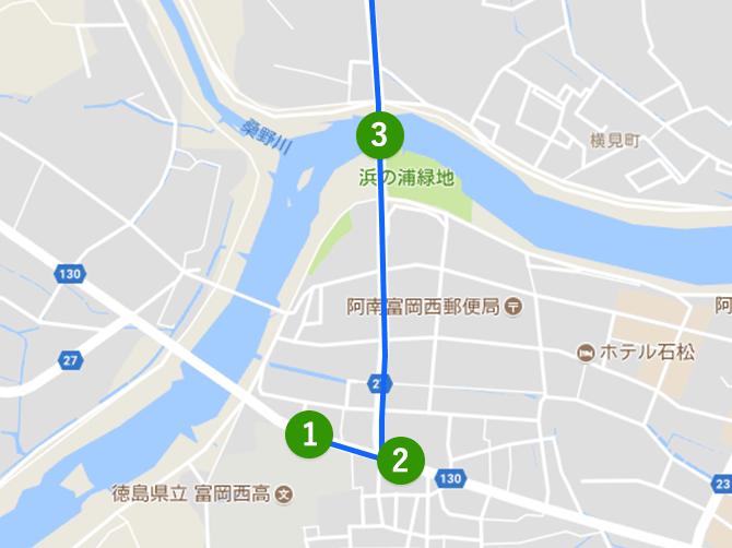 伊勢はんク(TOEC 事務所)までの道のり