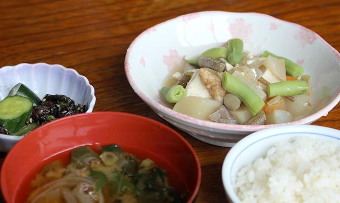 和食を中心とした田舎料理
